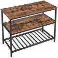 Barový stôl VASAGLE Geir hnedý
