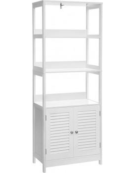 Koupelnová skříňka Vasagle Whitney II bílá