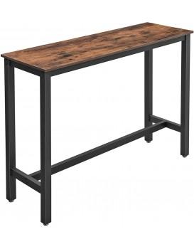 Barový stolek Peba hnědý