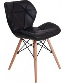 Čalouněná židle MURET - černá