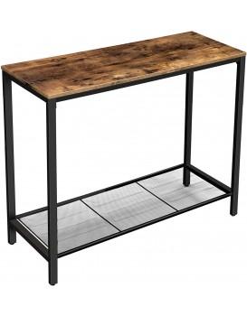 Konferenční stolek VASAGLE TOM hnědočerný