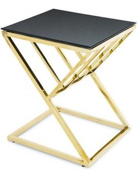 Konferenčný stolík OBLIC zlatý