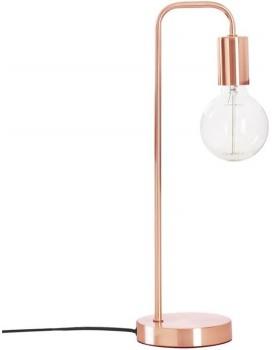 Stolní lampa Keli měděná 45 cm