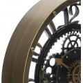 Nástenné hodiny meca hnedé