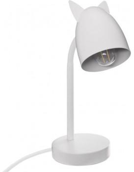 Dětská stolní lampa bílá 31 cm