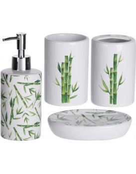 Sada koupelnových doplňků Rio bambus