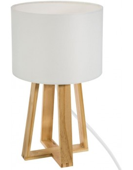 Noční lampa Molu bílá 34,5 cm