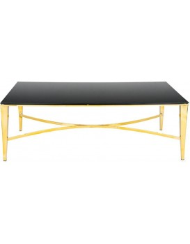 Konferenčný stolík RAYS zlatý