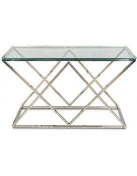 Konzolový stůl Timantti stříbrný