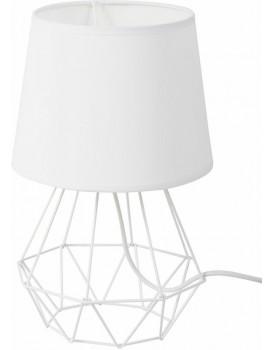 Stolová lampa DIAMENT II biela