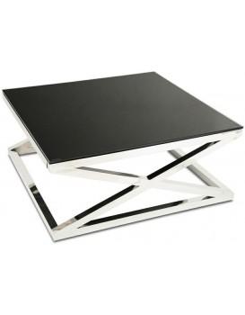 Konferenční stolek Saliba Silver Black