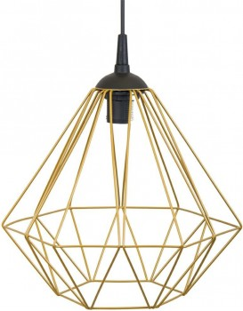 Stropné svietidlo Diamond 25 cm zlaté