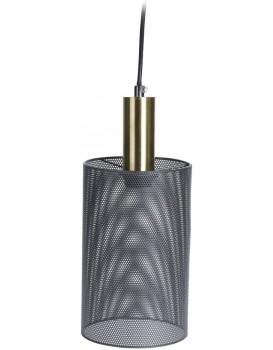 Stropné svietidlo Loffi tenké čierne