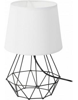 Stolová lampa DIAMENT biela