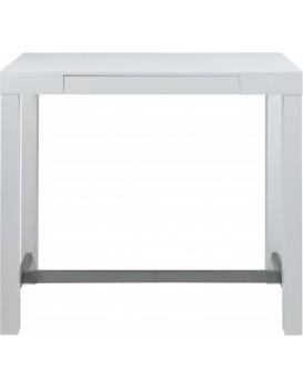 Barový stôl Nifa biely
