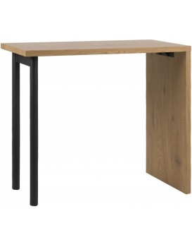 Barový stôl Dima čierny/dub