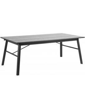 Jídelní stůl Carver 200x100 cm černý