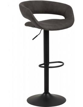 Barová stolička Gracja šedá