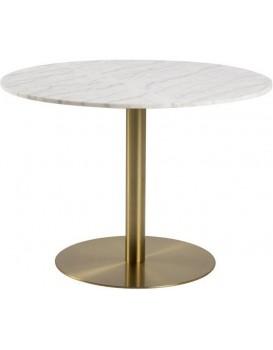 jídelní stůl 105 cm Corby bílý