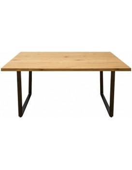 Jídelní stůl Layos 160 cm hnědý