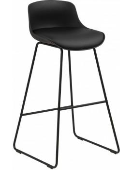 Barová židle Tina černá