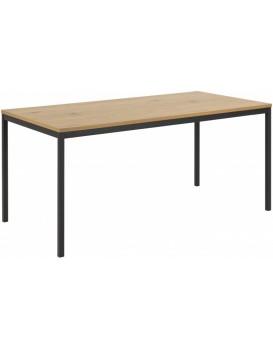 Jedálenský stôl Seaford 160x80x74 cm hnedý