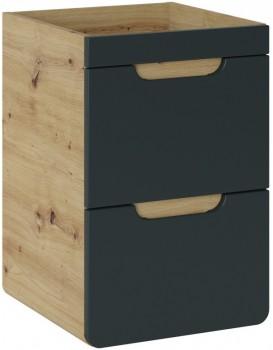 Umyvadlová skříňka ARUBA 40 cm dub artisan/grafit