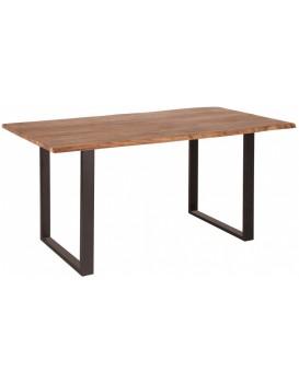 Jídelní stůl Mammut 140x85-90 cm hnědý