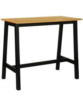 Barový stůl Brighton černý/dub