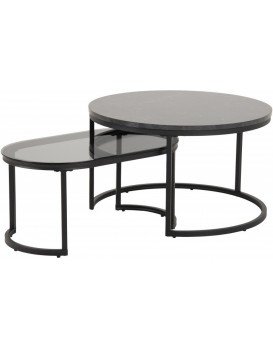 Sestava konferenčních stolků SPIRO šedá