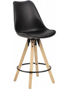 Barová židle Dima dud/černá