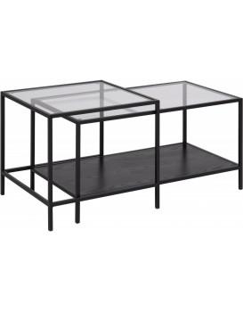 Konferenční stolky Seaford sklo/jesion