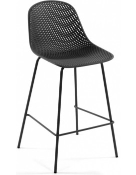 Barová stolička Quinby sivá