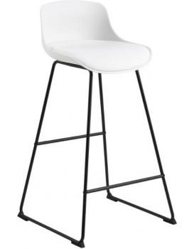 Barová židle Tina bílá