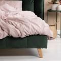 Čalúnená posteľ Cindy 160x200 dvojlôžko - zelená