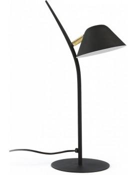 Stolní lampa Aurelia černá/zlatá