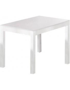 Rozkládací stůl Marena 118-156x76 cm bílý