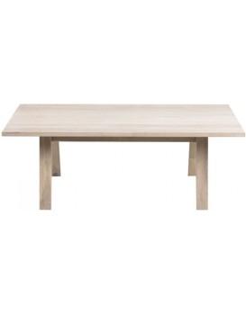 Konferenční stolek A-line bělený dub