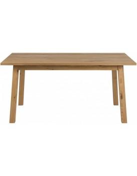 Jídelní stůl Chara 160x90 cm hnědý