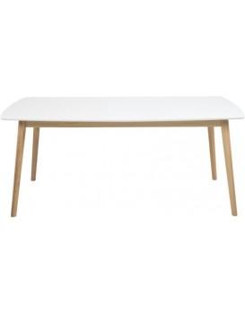 Dřevěný stůl Nagano bílý
