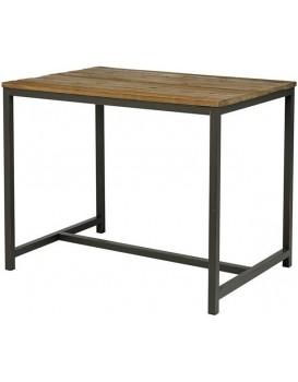 Barový stôl Vintage hnedý/čierny