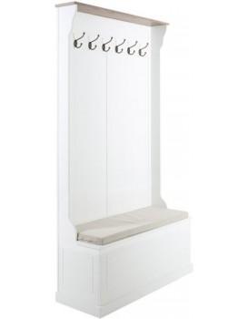 Predsieňová stena Aster biela