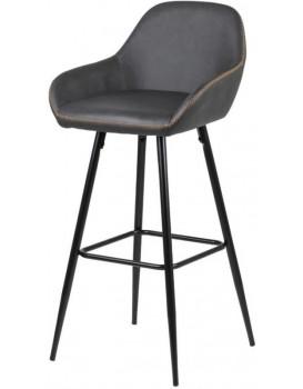 Barová židle Candi šedá
