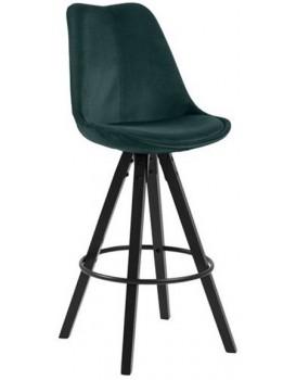 Barová židle Dema tyrkysová