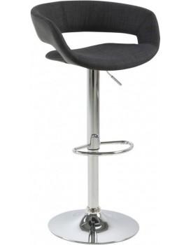Barová stolička Grace čierna / sivá