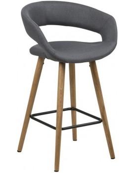 Barová stolička Gracja II sivá