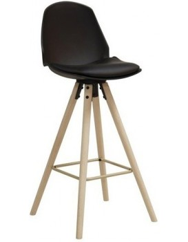 Barová stolička Oslo čierna
