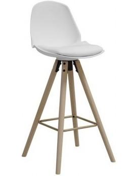 Barová stolička Oslo biela