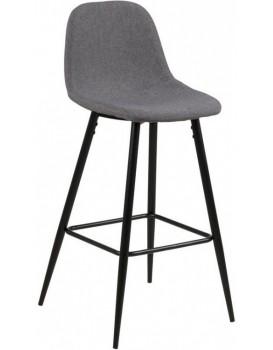 Barová stolička Wilma svetlosivá 2
