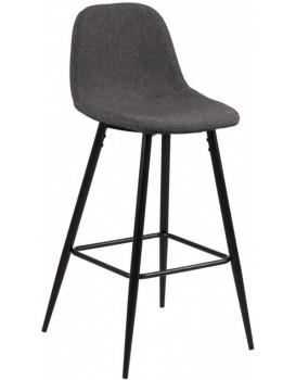 Barová židle Wilma šedá